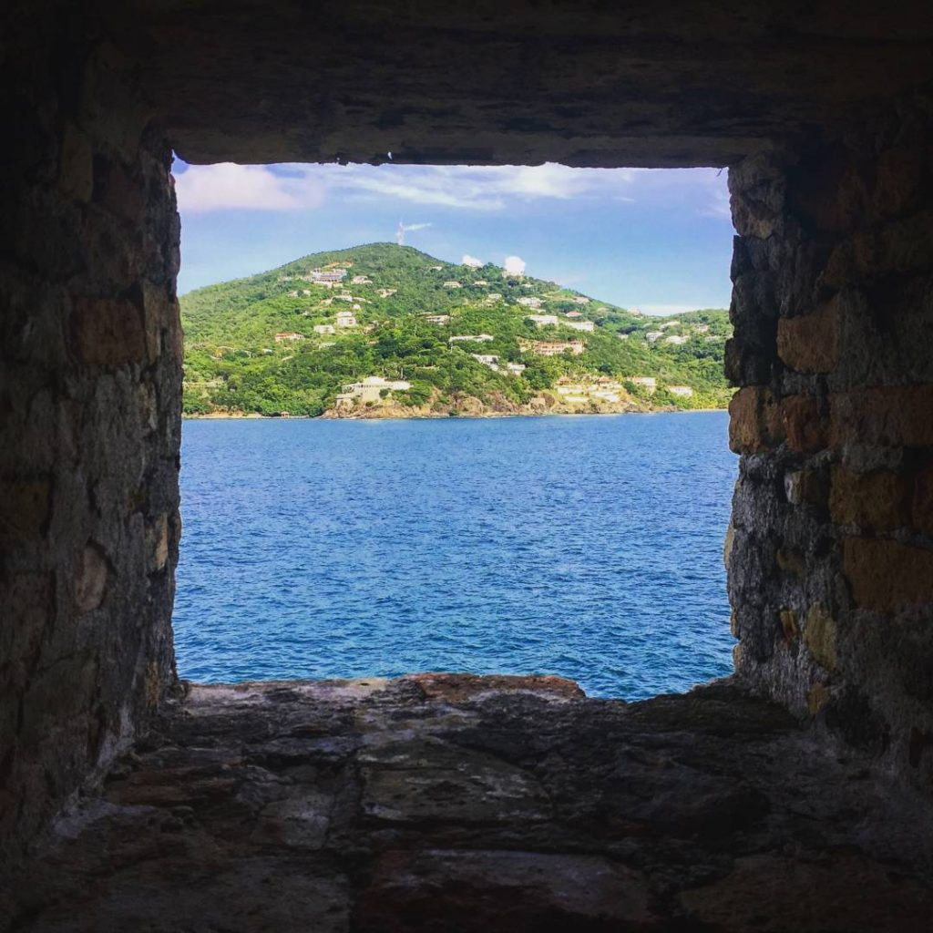 View of St. Thomas from Fort Willoughby