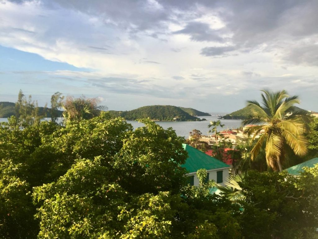 What to see in St. Thomas: view of Charlotte Amalie