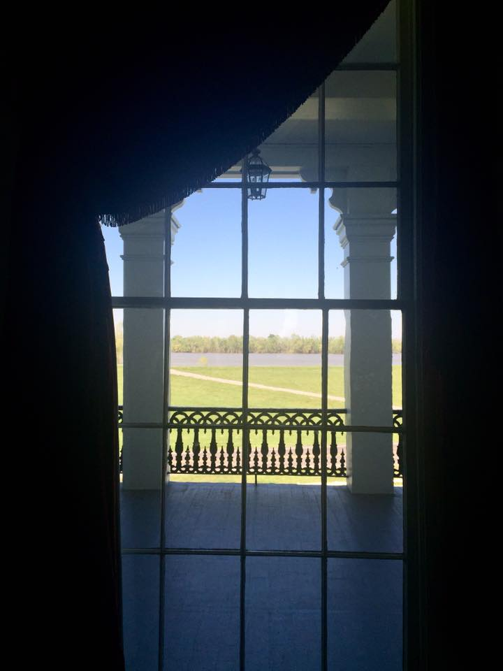 Nottoway Plantation, views on the Mississippi