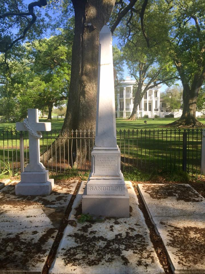 What to see in Louisiana: Nottoway Plantation, the little Randolph family cemetery