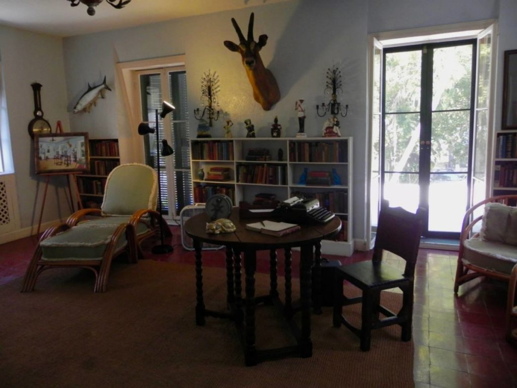 Ernest Hemingway House, the studio