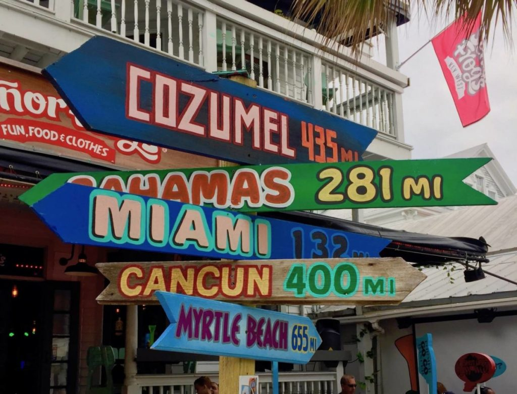 Things to do in Key West: a walk through Duval Street