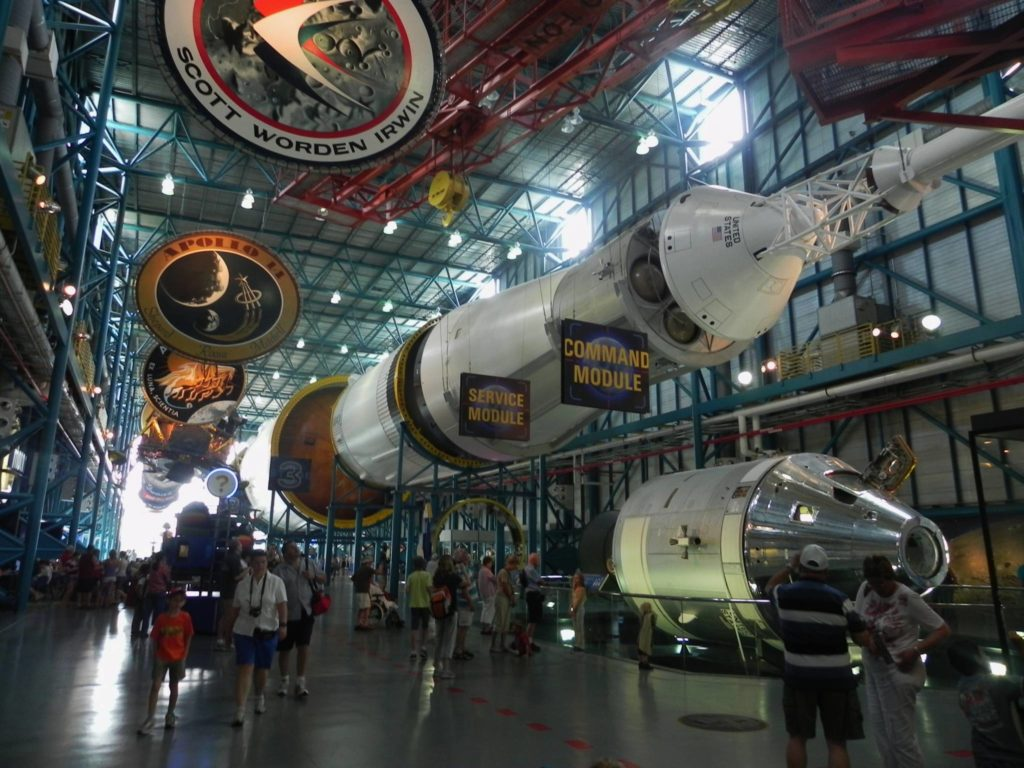 Il secondo Saturno V conservato al Kennedy Space Center