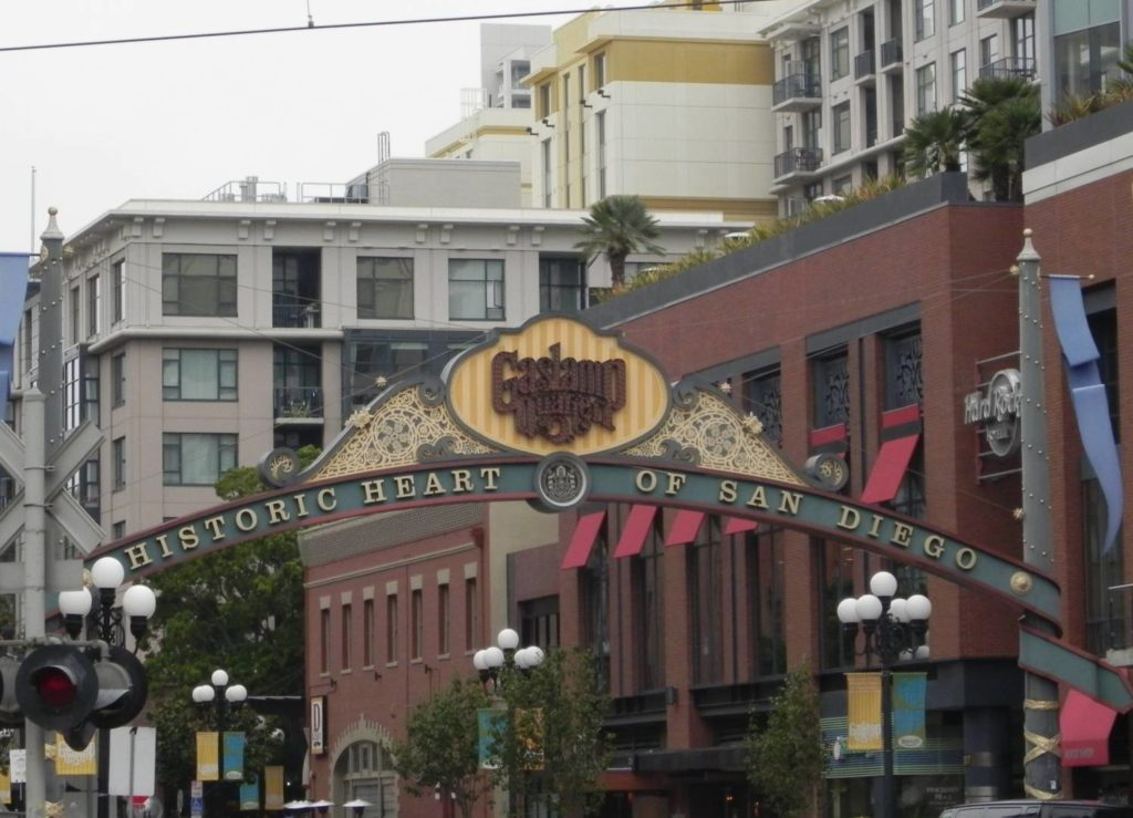Viaggio in California: San Diego, Gaslamp Quarter