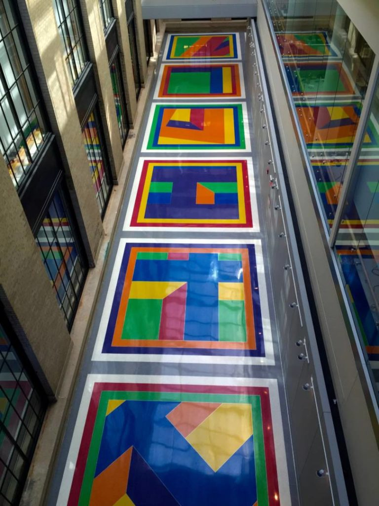 MIT List Visual Arts Center, public art, Sol LeWitt