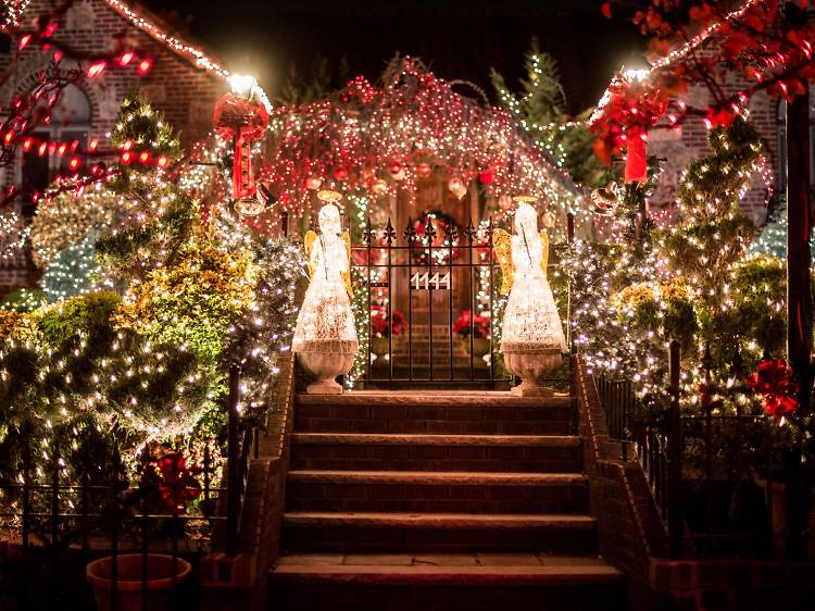 December in New York: Dyker Heights