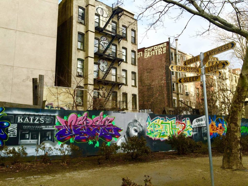 New York itineraries: First Park