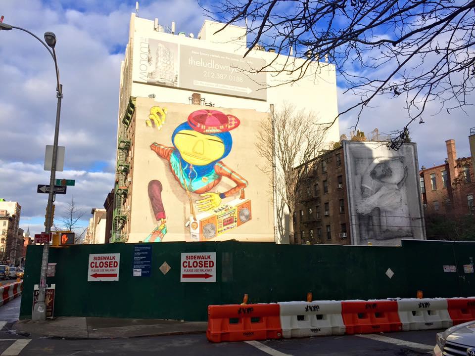 Street Art in Houston Street