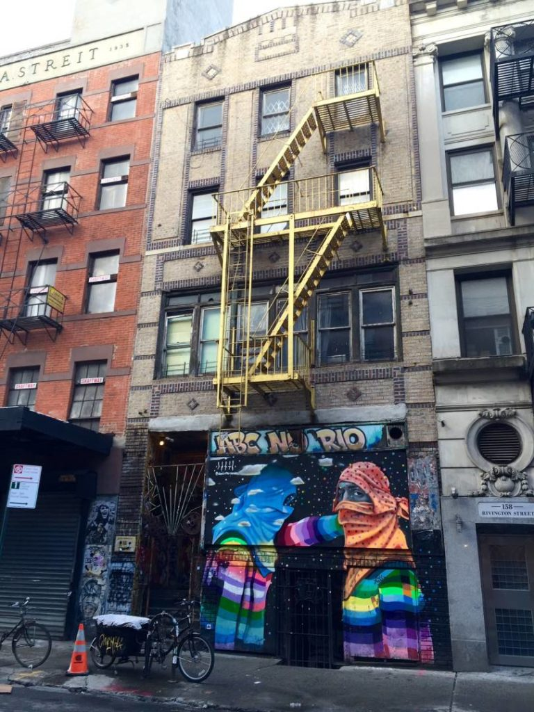 Graffiti in the Lower East Side