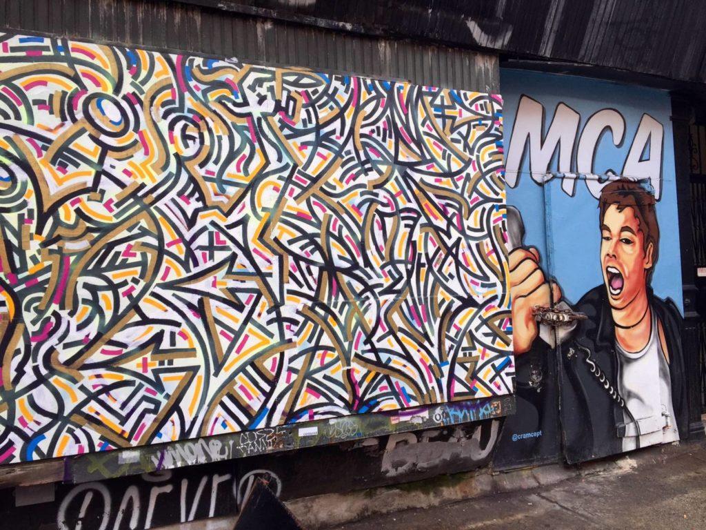 East Village, graffiti & street art