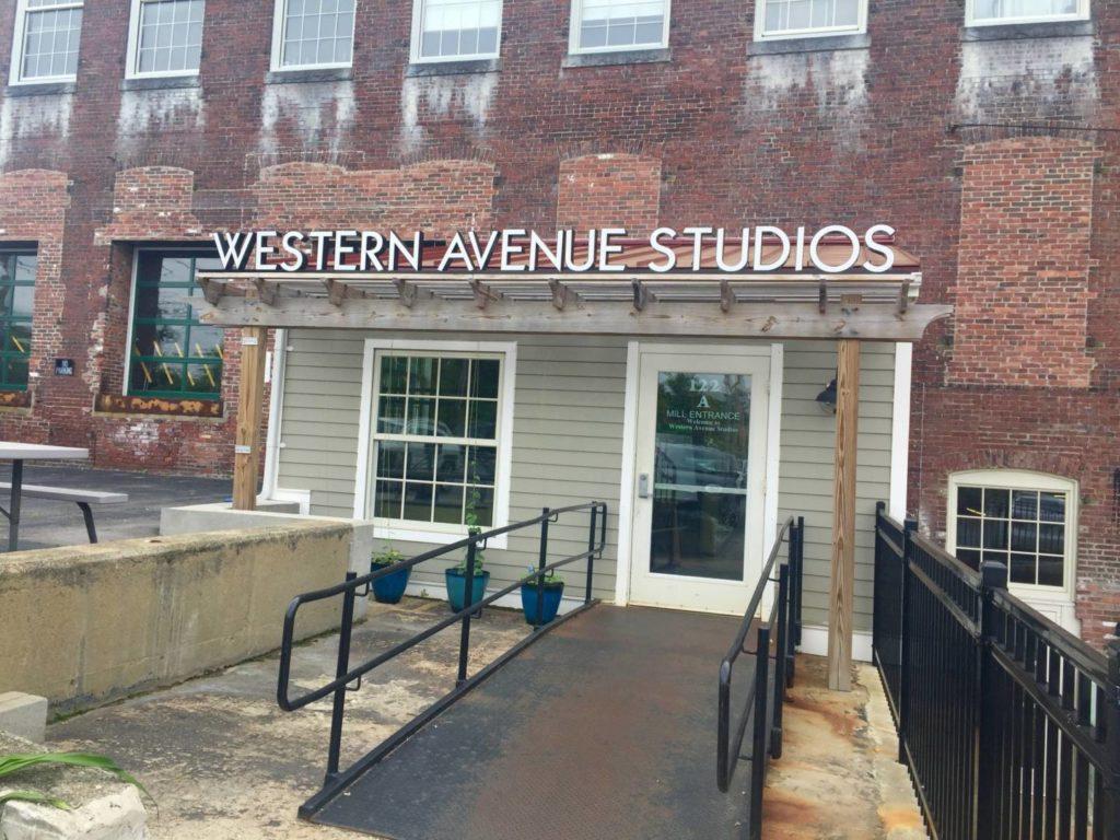 Foliage in New England: Western Avenue Studios
