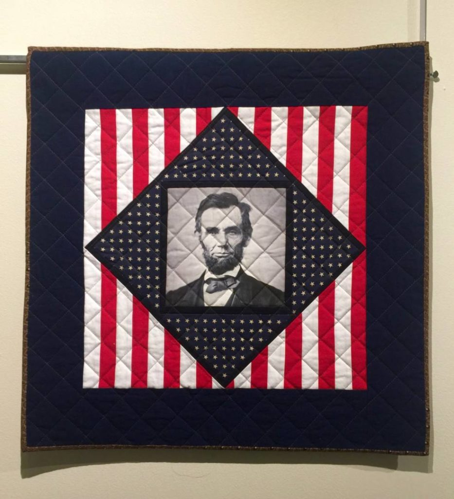 A Quist dedicated to President Abraham Lincoln, New England Quilt Museum