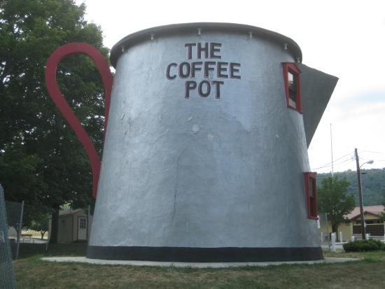 Giant Coffee Pot, Bedford, Pennsylvania