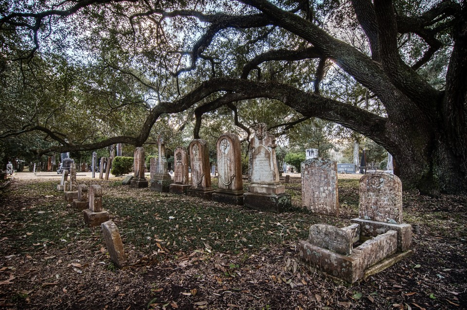 St Francisville, the old cemetery of Grace Episcopal Church