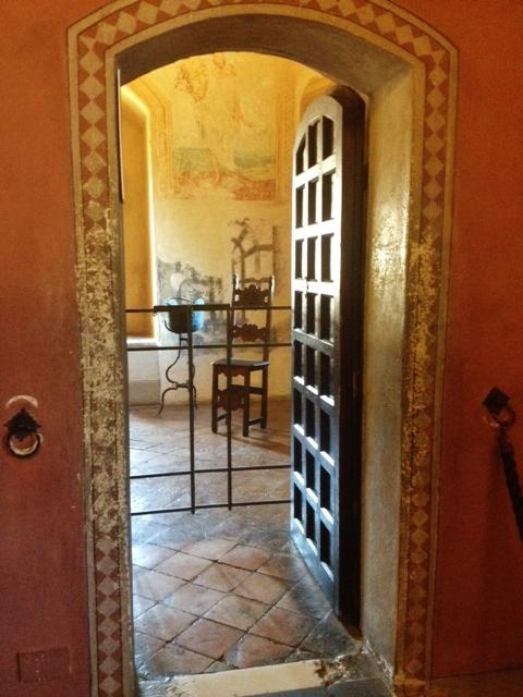 Gli interni del Castello di Gradara