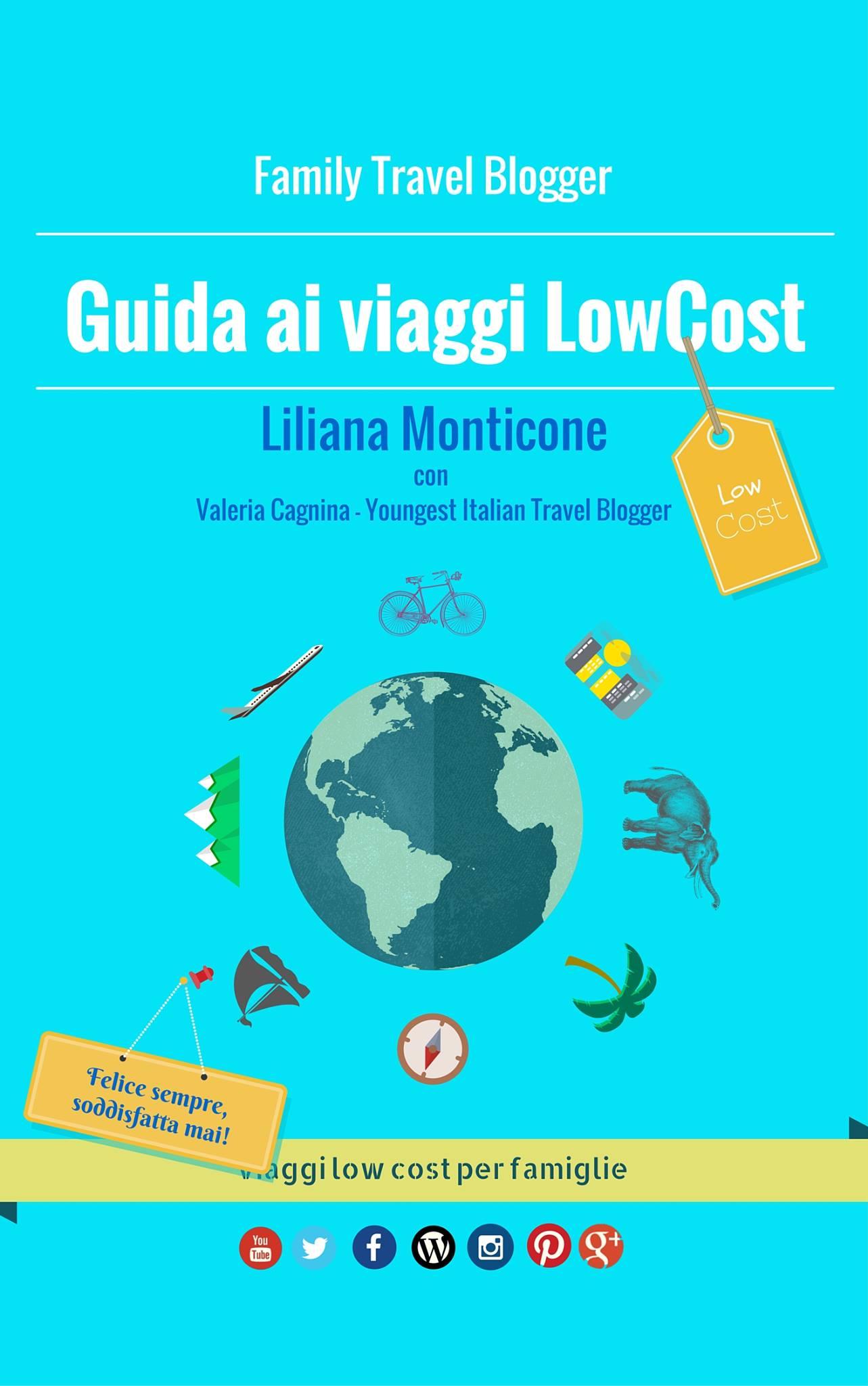 Guida ai viaggi Low Cost, la copertina