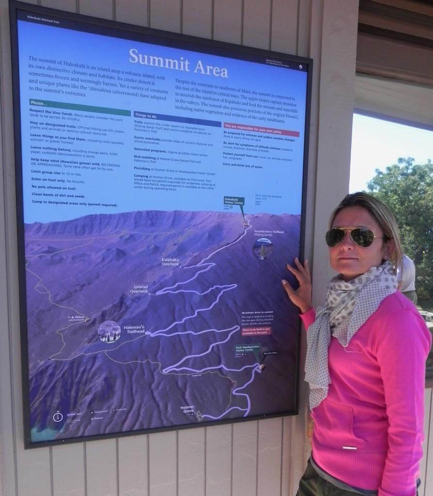 Haleakala National Park, il percorso verso la sommità