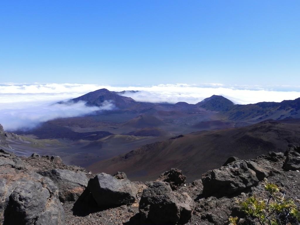 Haleakala National Park, una parte del cratere