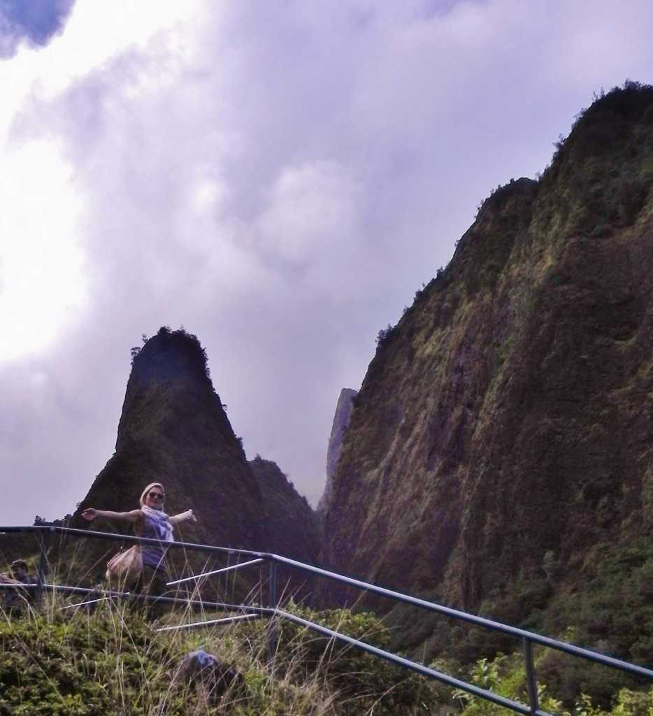 Verso lo Iao Needle, Iao Valley