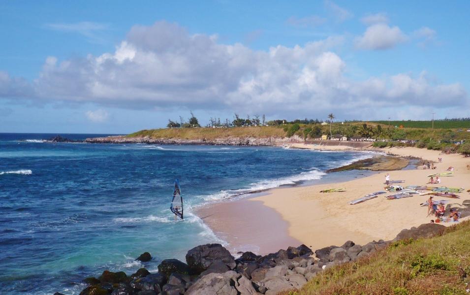 Hookipa Beach, la spiaggia dei windsurfer
