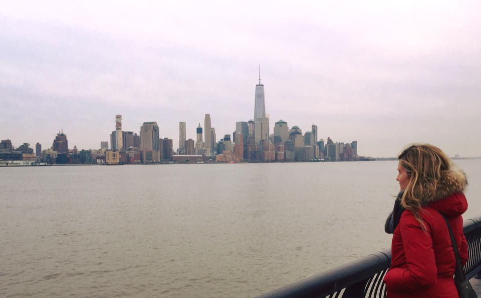 New York insolita: Lower Manhattan vista dal Pier 6 di Hoboken