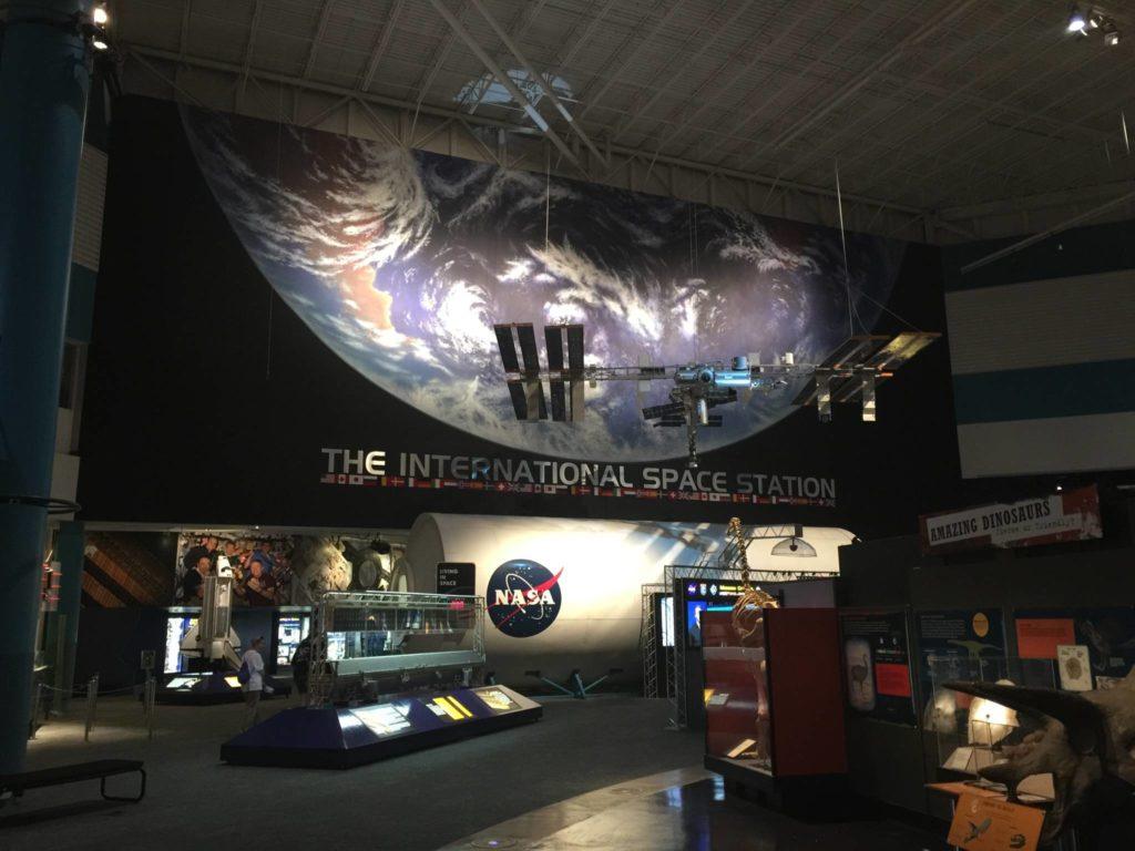 L'ingresso alla Exhibit Plaza