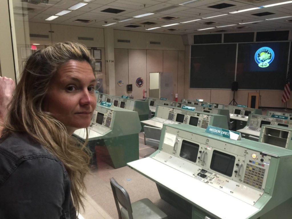 L'originale sala comandi di tutte le Missioni Apollo