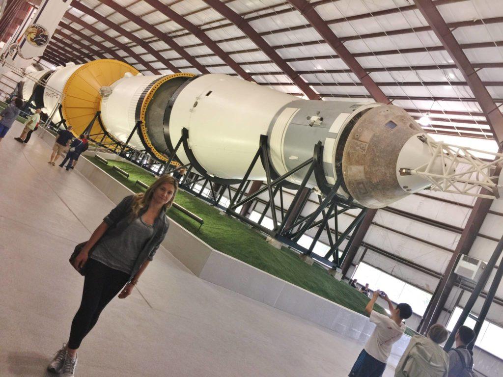 Saturno V, uno dei tre missili originali