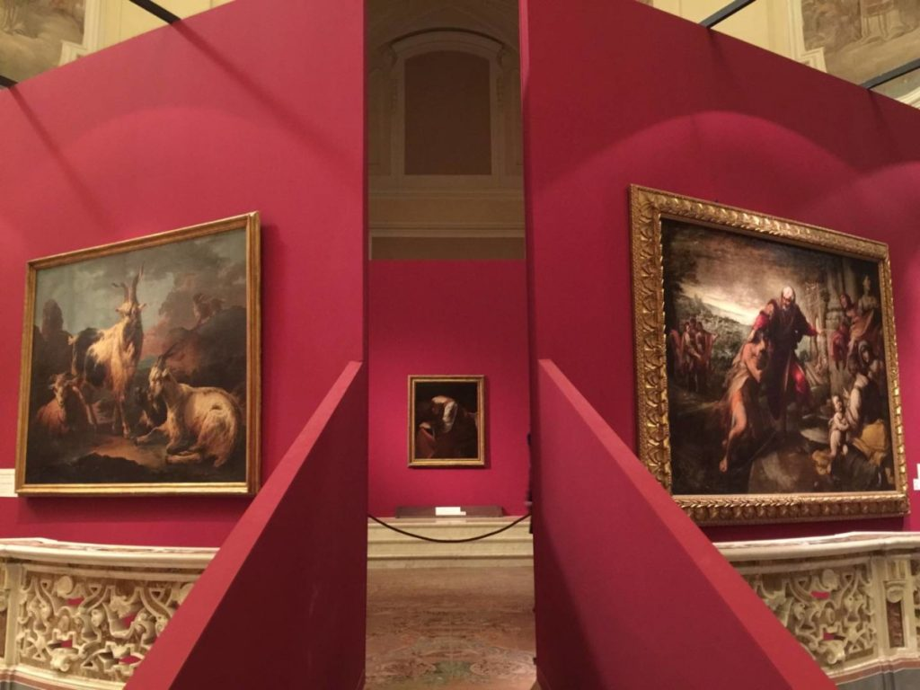 The Hidden Treasures, geometries for Caravaggio