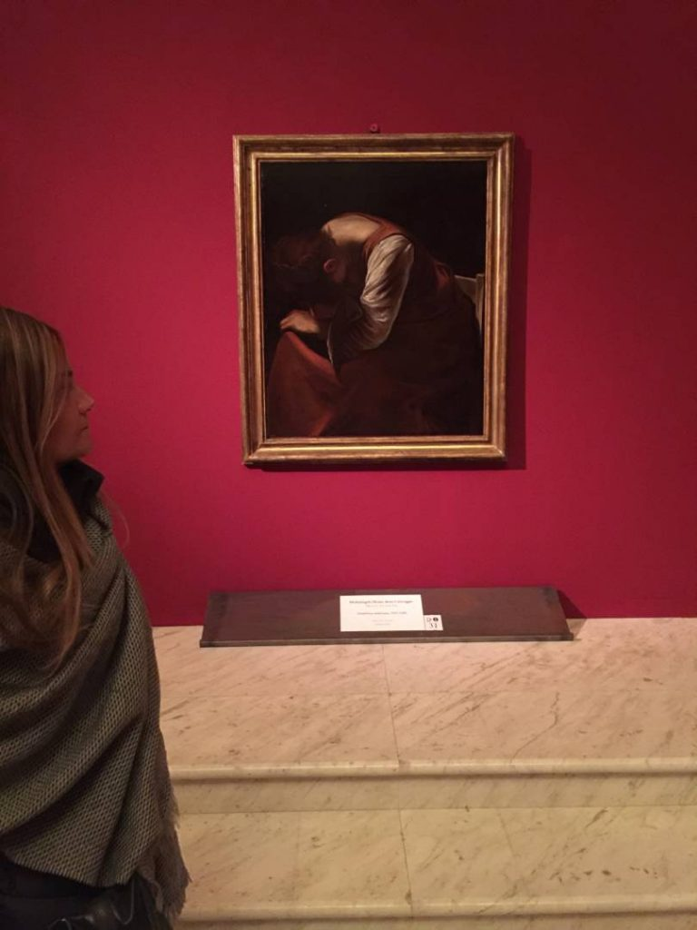 "The hidden treasures: Caravaggio ""The Grieving Madonna"""