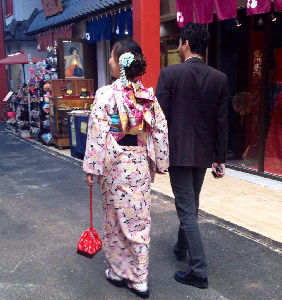 Tokyo, amore e tradizione