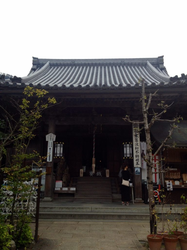 L'ingresso del Santuario di Hokoku