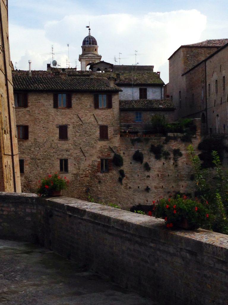Urbania, scorcio del Palazzo Ducale