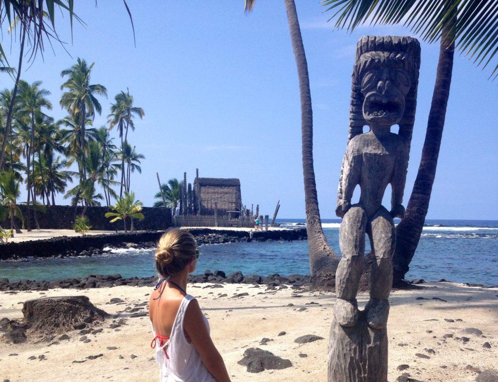 Big Island, il sacro centro cerimoniale di Pu'Uhona O