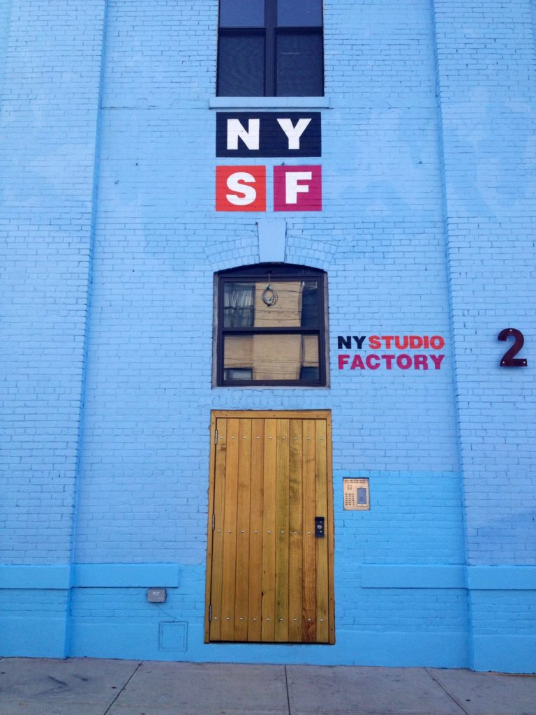 Art Studio Factory in Bushwick