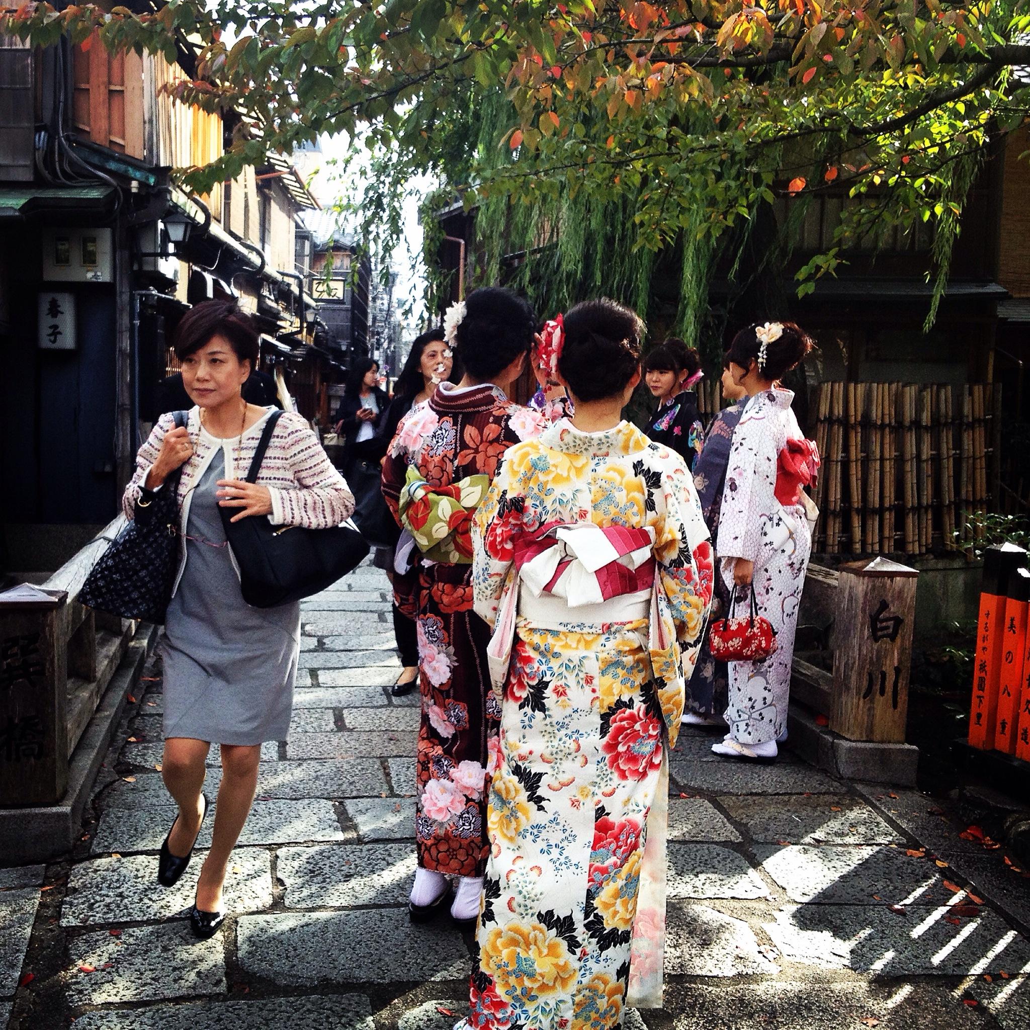 Kyoto, donne al bivio tra modernità e tradizione