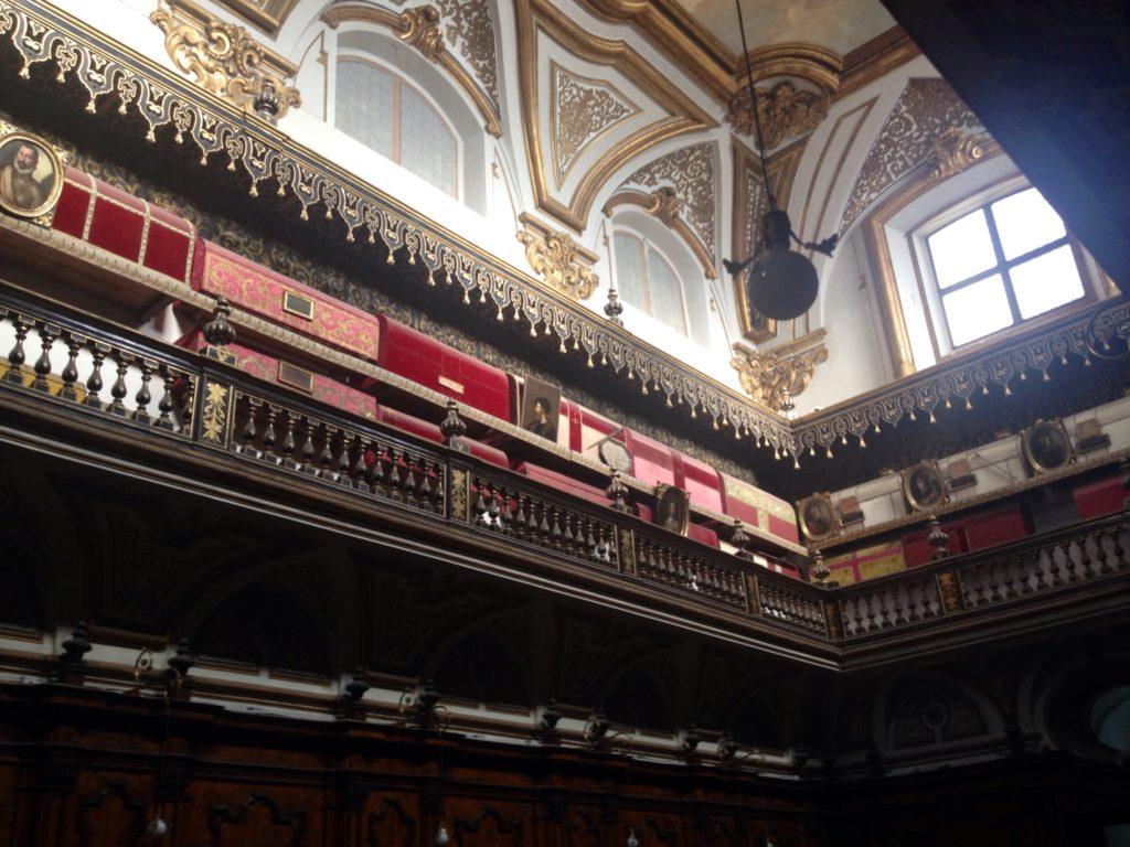 Napoli, San Domenico maggiore, le Arche dei Re d'Aragona