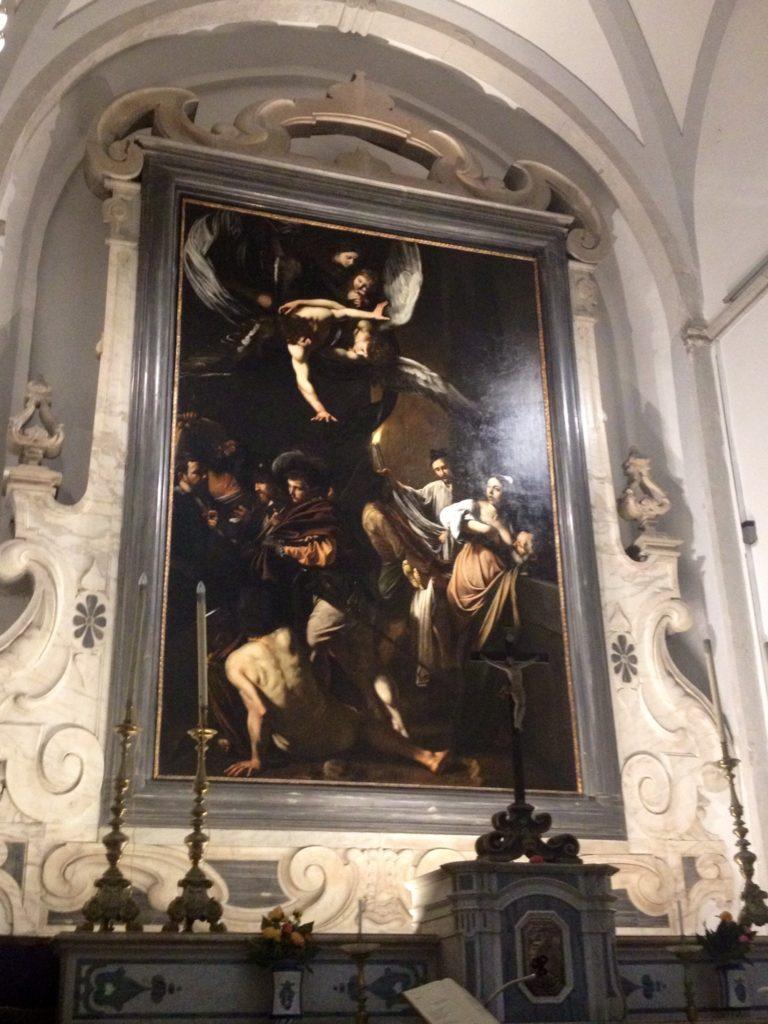 Pio Monte della Misericordia, le 7 Opere di Misericordia di Caravaggio