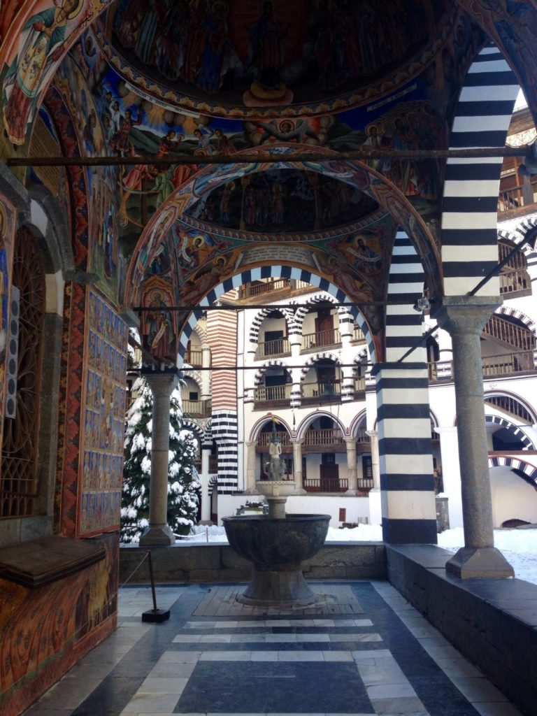 The Rila Monastery, views