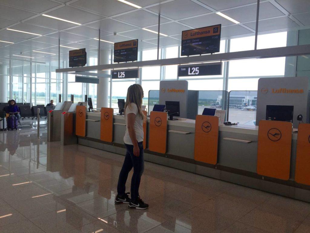 Munich international Airport: verso Denver