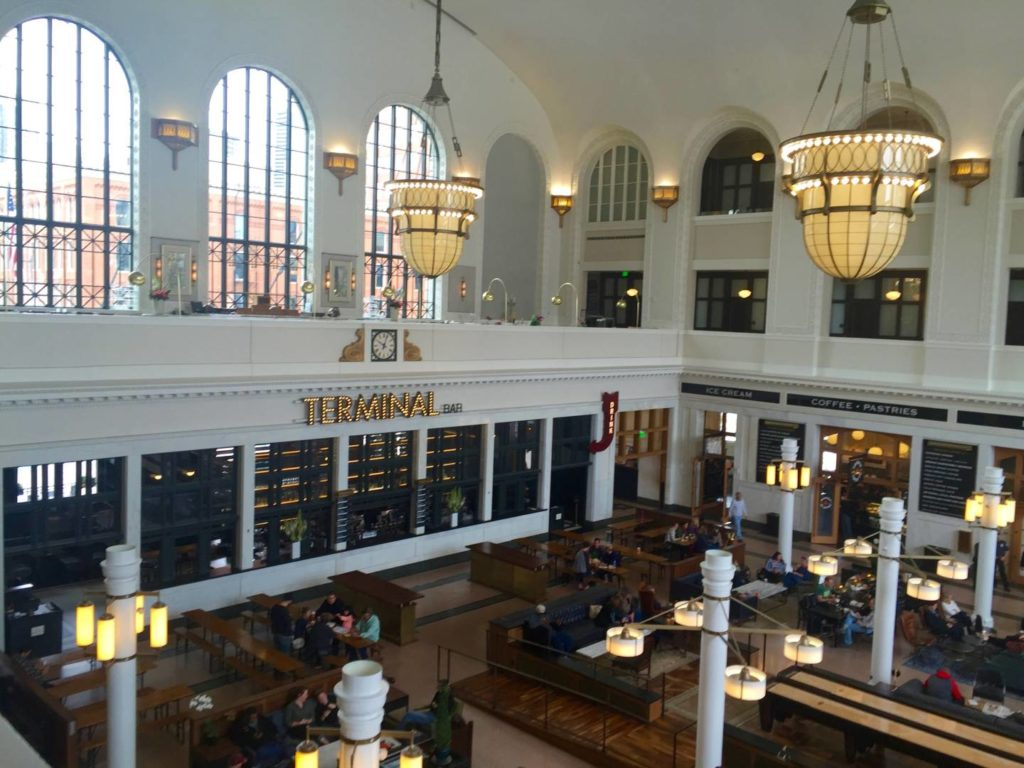 Scoprire Denver: Union Station, l'interno