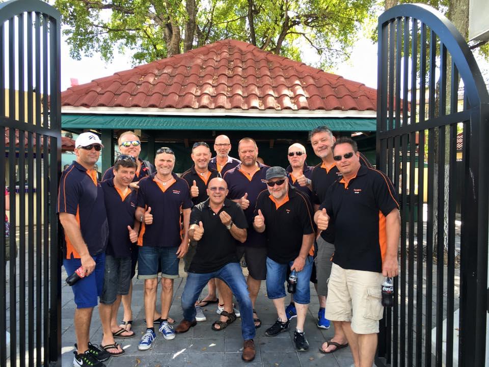 Itinerari di viaggio in Florida: Nestor con un gruppo