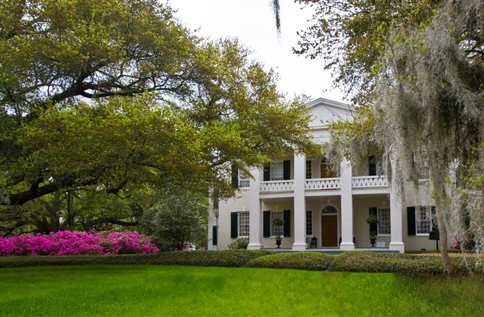 Itineraries in Mississippi: the wonderful dwellings of Natchez