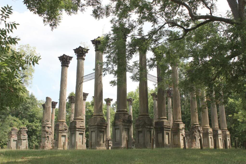 Itinerari in Mississippi, Windsor Ruins