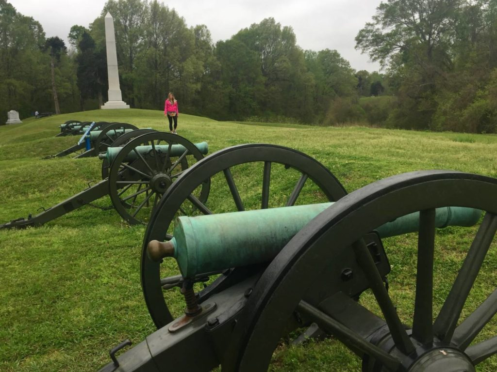 Itineraries in Mississippi: the Vicksburg National Military Park
