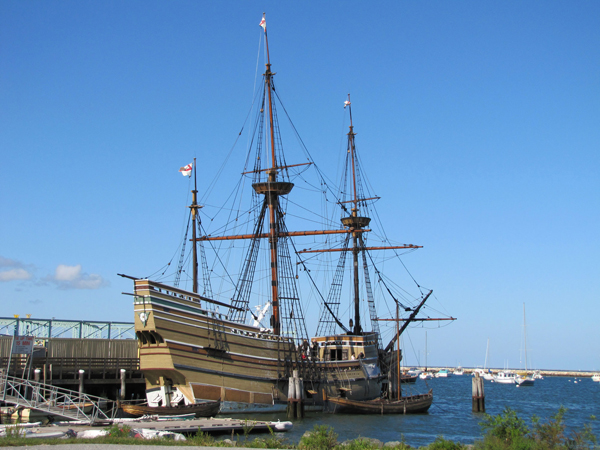 La nave Mayflower