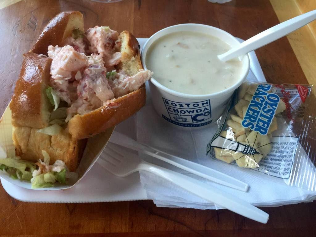 Viaggio in Massachusetts: Lobster Roll & Boston Chowda