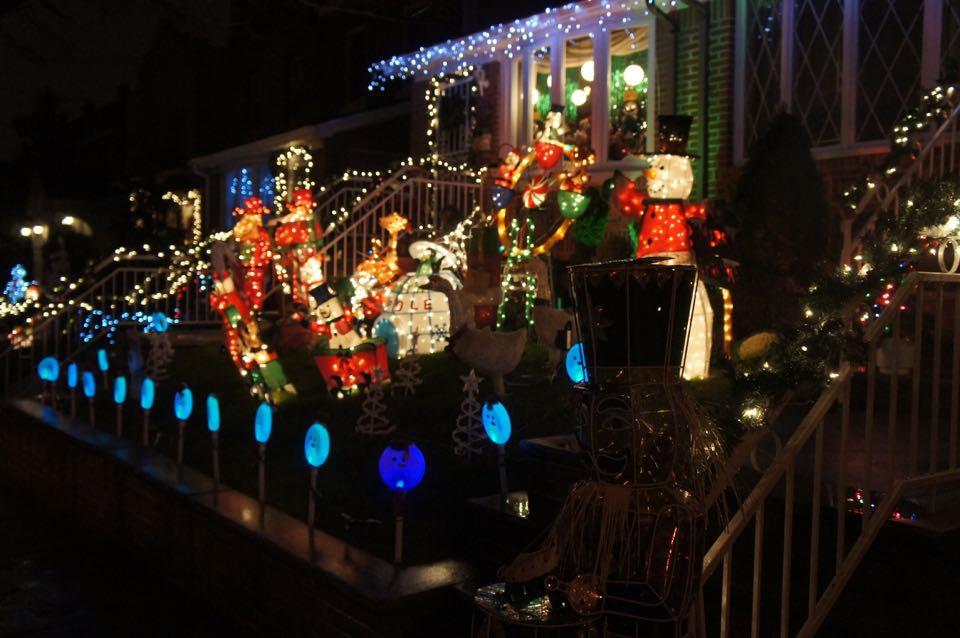 Luci di Natale a Brooklyn