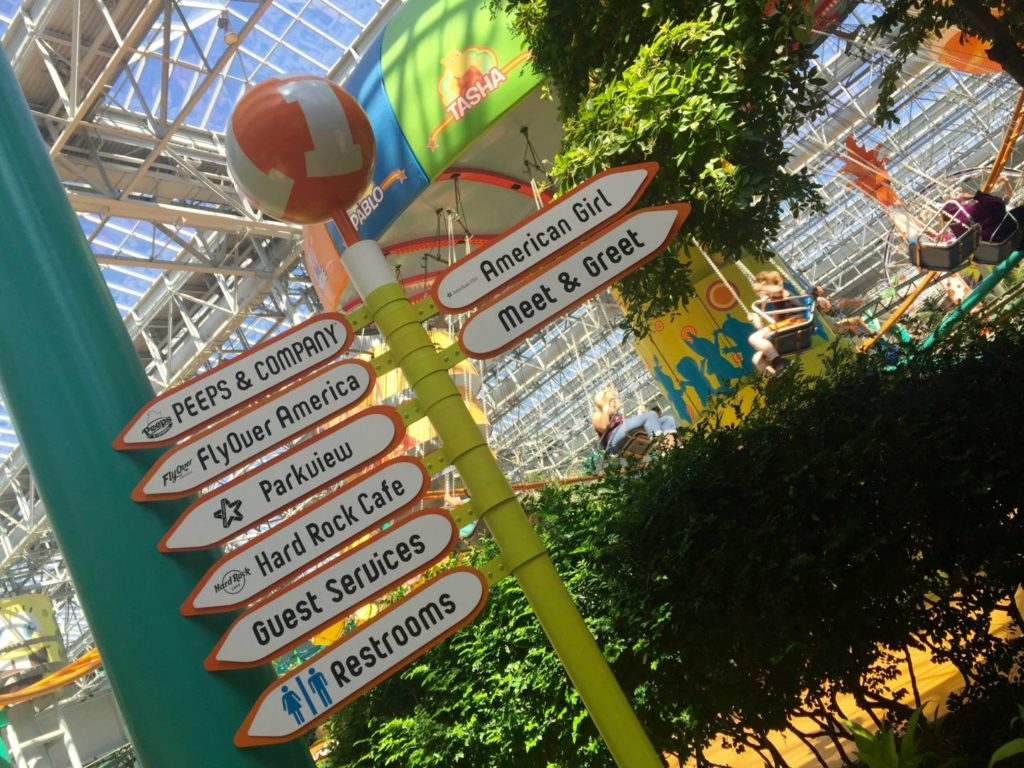 Discover the Mall of America: the Nickelodeon Universe