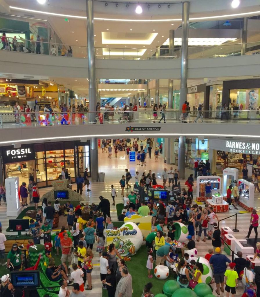 Scoprire il Mall of America, l'interno
